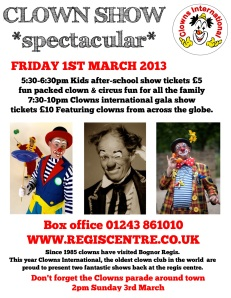CI Clown show poster